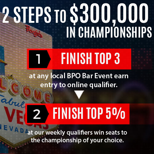 BAR POKER OPEN: $300,000 IN NATIONAL CHAMPIONSHIPS