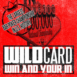 BAR POKER OPEN - FEBRUARY IS WILDCARD MONTH
