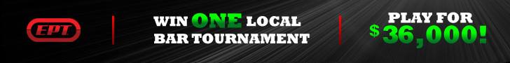 Win One Local Bar Tournament, Play for $36,000!