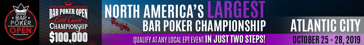 Bar Poker Open East Coast Championship 2019