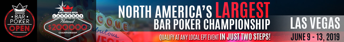 Bar Poker Open National Championship 2019