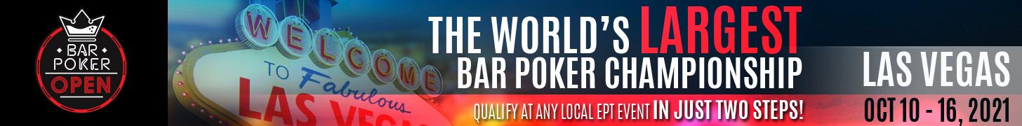 Bar Poker Open National Championship 2021